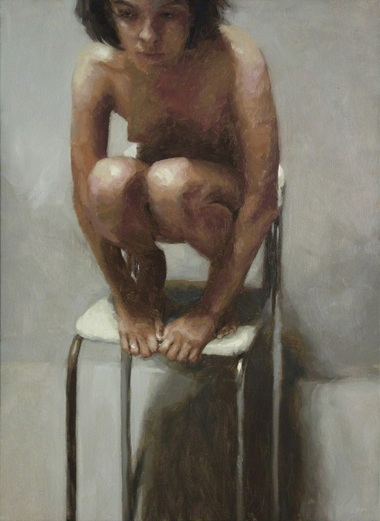 Rafel Bestard.  Woman and chair